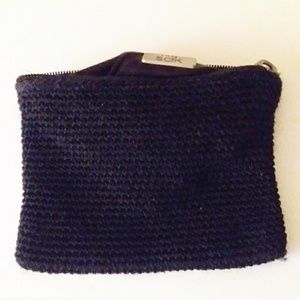 The Sak Bags - Set of 3 Crocheted Bags and 1 The Sak Coin Purse